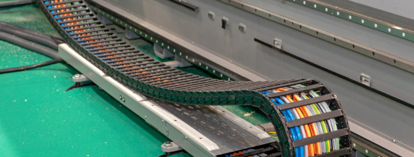 Släpkedjekabel - högflexibel kabel